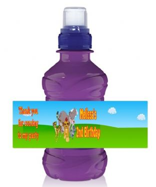 The Lion Guard Bottle Label Wrapper.